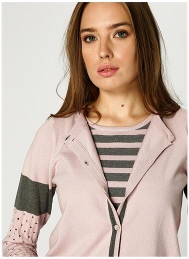 Optique Knitwear 2 li Takım Pembe